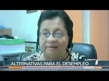 Profesora Nelva Reyes Barahona, habla sobre el Desempleo en Panamá