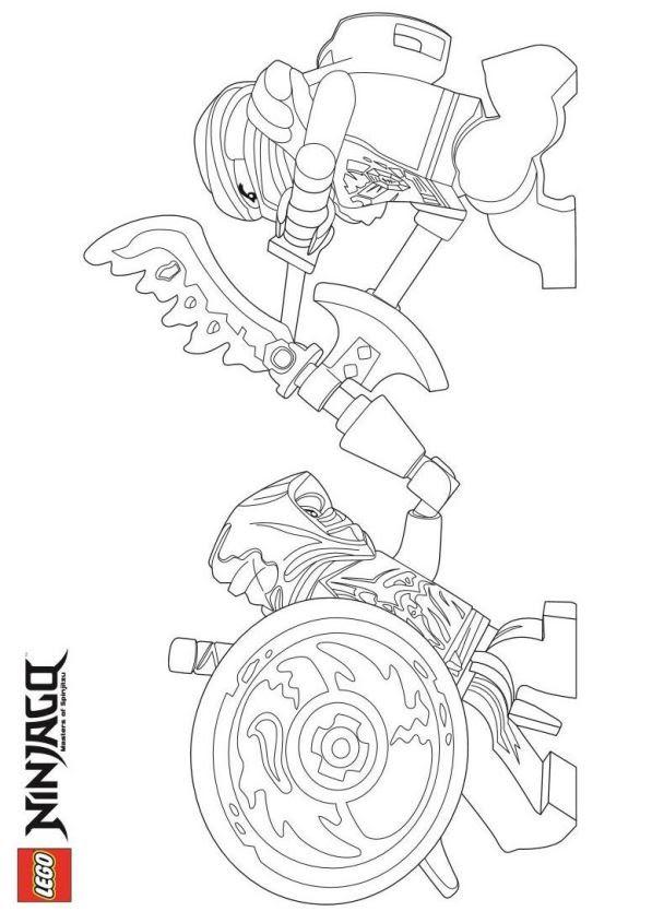 ausmalbilder lego ninjago drachen