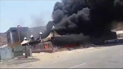 Tenda di Mina Terbakar Bukan untuk Jamaah Indonesia