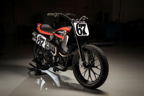 Next Generation, Liquid-Cooled Harley-Davidson XG750R Flat Tracker Debuts At AMA Pro Springfield Mile