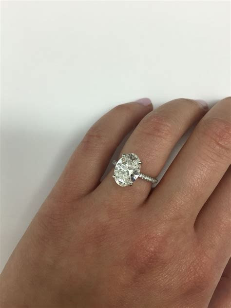 3 carat oval   Ring: Oval Engagement Rings   Engagement