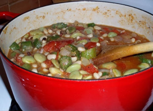 Cajun Okra Stew Recipe - Genius Kitchen