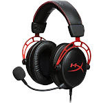 HyperX - Cloud Alpha Wired Stereo Gaming Headset for PC, PS4, Xbox One and Nintendo Switch - Red/black