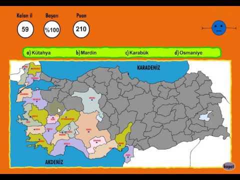 Best Türkiye Haritası Boyama Oyunu Oyna Image Collection