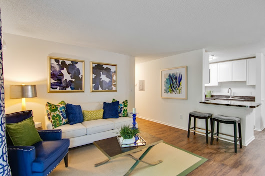 Two Bedroom Apartment Furniture- Grove Parkview Apartments
