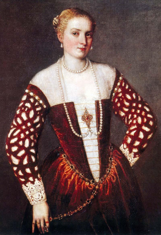 Paolo Caliari Veronese Portrait of a Woman