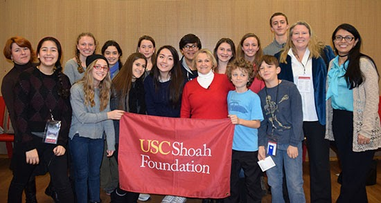 University of Southern California (USC) Shoah Foundation Center Junior Postdoctoral Research Fellowship for International Students in USA, 2019-20