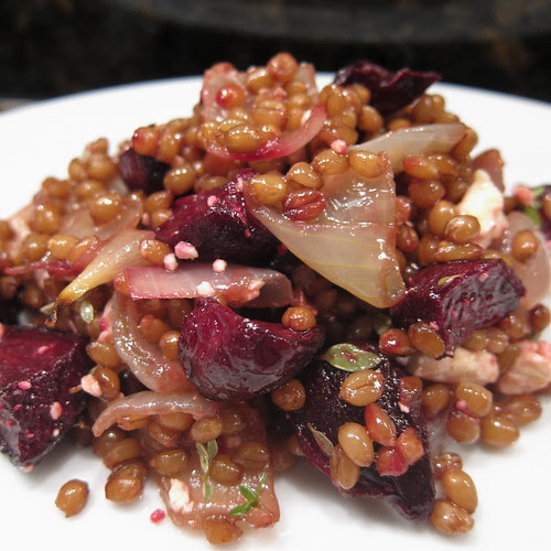 Wheat Berry & Beet Salad