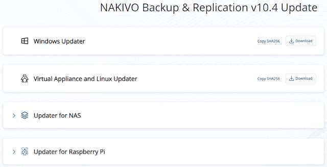 NAKIVO Backup and Replication v10.4 GA Released for Download
