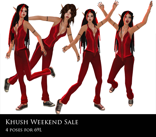 Khush Weekend Sale - 4 Poses for 69L