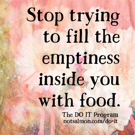 stress eating quotes  inspire willpower   stop