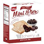 Katz Gluten Free Cherry Mini Pies 5.5 Oz [Case of 6]