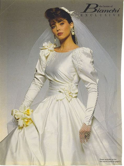 1990's The House Of Bianchi wedding gown   80'S AND 90'S