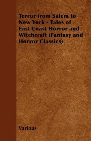 Terror from Salem to New York - Tales of East Coast Horror and Witchcraft (Fantasy and Horror Classics)