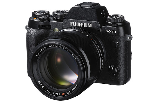 Fujifilm's X-T1 camera features weather sealing and an amazing viewfinder
