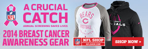 Shop for 2013 NFL Breast Cancer Awareness Apparel and Accessories