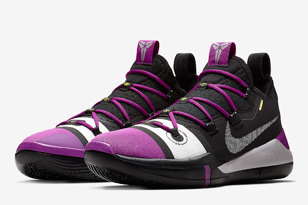 new arrival 22962 05f7d Kobe Bryant s New Nike Kobe AD Signature Shoe Appears In Purple
