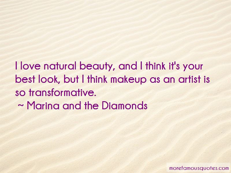 Quotes About Makeup And Natural Beauty Top 9 Makeup And Natural