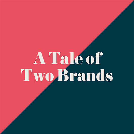 A Tale of Two Brands | Free branding ebook | A Marketing Story | BML