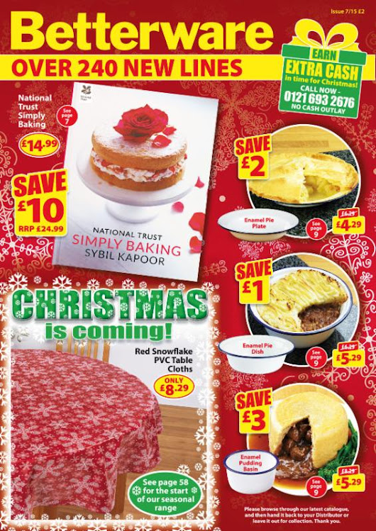 Hark! Our New Catalogue Heralds The Start Of Christmas! On Sale Today!