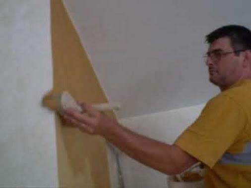 I nostri collaboratori decorazione pareti pittura dorata effetto ...
