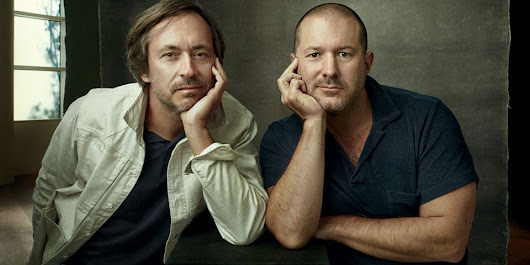 Vogue interview with Apple designers Jony Ive and Marc Newson