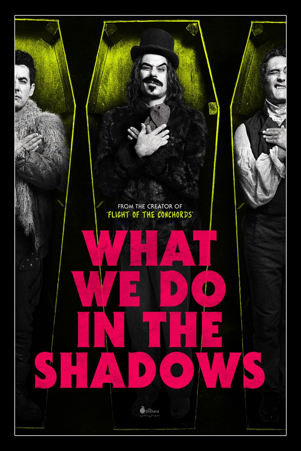 Resultado de imagem para What We Do in the Shadows 2014 posters