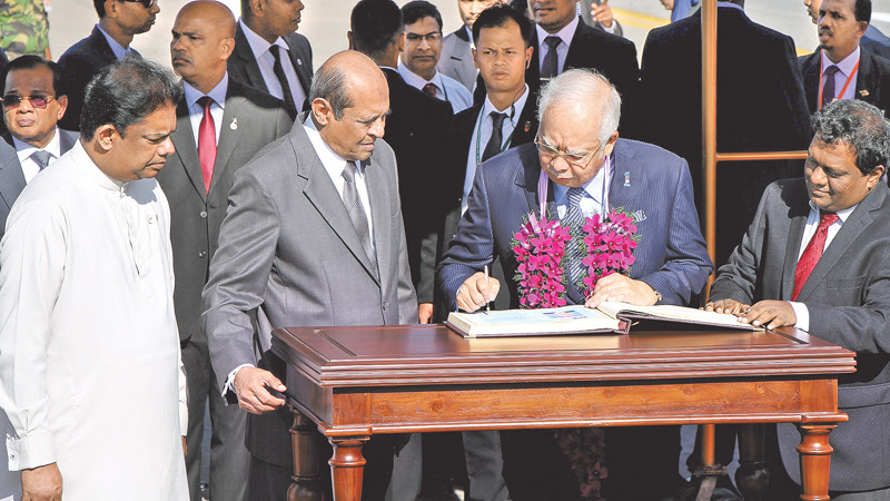 Malaysian PM here: Focus on economic cooperation, trade and investment