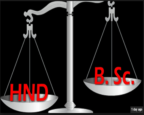 Image result for the death-knell of the dichotomy between BSc and HND