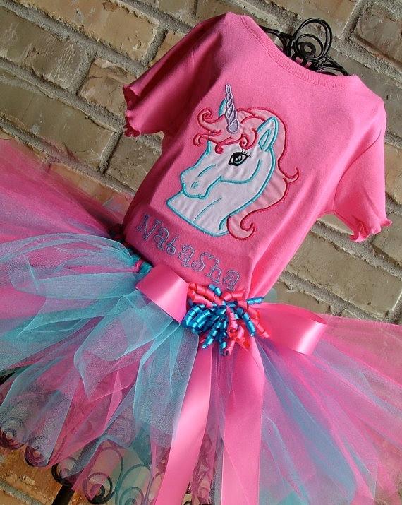 enchanted unicorn tutu outfit
