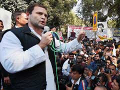 At Students' March, Rahul Gandhi Slams 'Suppressive' Government