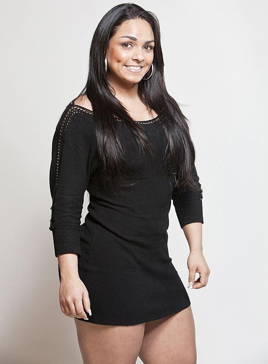 A dançarina Andressa Soares, a Mulher Melancia