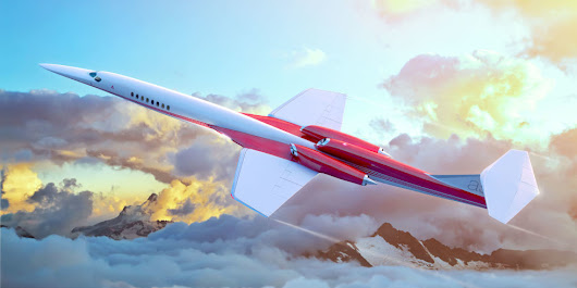 The Race Is On to Build a Supersonic Airliner by the 2020s