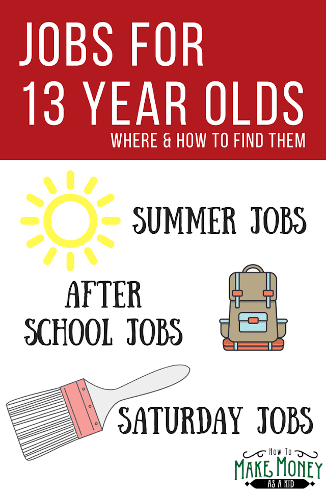Online Jobs for 13-Year Olds