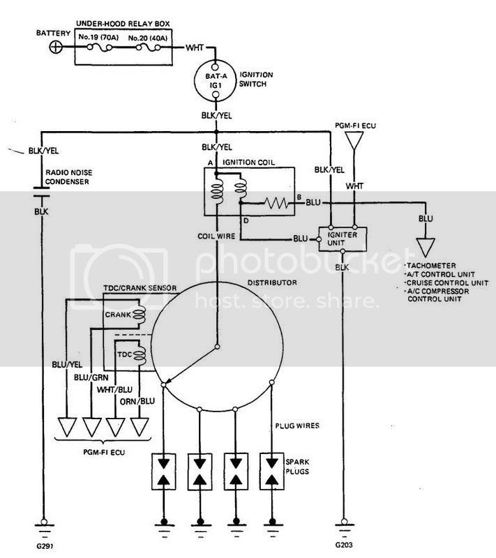 1990 Honda Prelude Ignition Wiring Diagram - All of Wiring ...