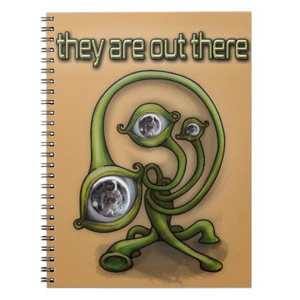 They are out there spiral notebook