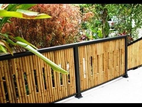 Cara Membuat Pagar Rumah Dengan Bambu - Pagar Rumah