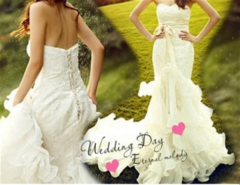 Little Mermaid Wedding Dress Wedding Dress   Tradesy