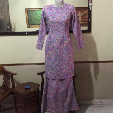 baju kurung cotton vietnam muslimah fashion  carousell