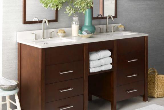 Bathroom Vanity Cabinets: Kali - Contemporary - Bathroom Vanities ...