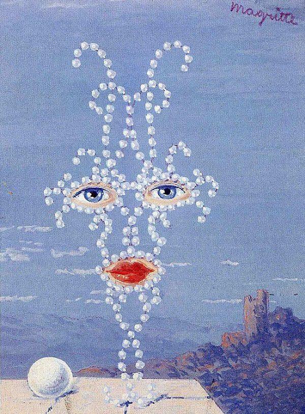Sheherazade, 1950 by Rene Magritte