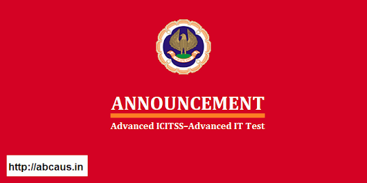 ICAI Advanced ICITSS-Advanced IT Test in Kerala cancelled due to flood