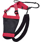 Pettom Dog Outdoor Nylon Soft Mesh Harness, includes Adjustable Padding for your Dog Harness (S, Red)