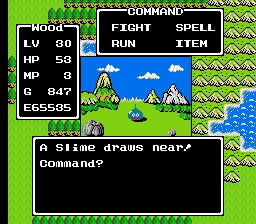 Dragon Quest Battle System - Part I