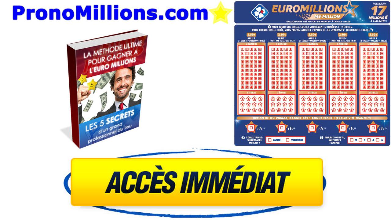 PRONOSTICS EUROMILLIONS Vendredi 22 Janvier 2021 (JANVIER ...