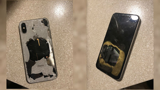 Apple iPhone X catches fire (blast) while updating firmware: Apple is yet to respond - Gizbot News