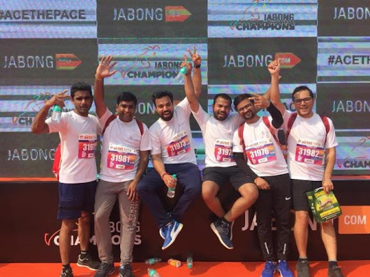 Run for a Cause- Delta India Industrial Automation Business Group Participated in ADHM'18 for Promoting Higher Education Amongst Women in India