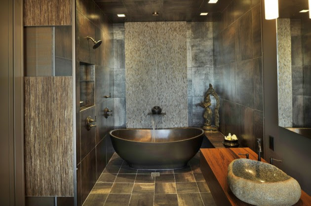 15 Zen-Inspired Asian Bathroom Designs For Inspiration