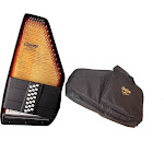 Oscar Schmidt 21 Chord Electric Autoharp w/ Gig Bag, Passive Pickup, OS150FCE-AC445
