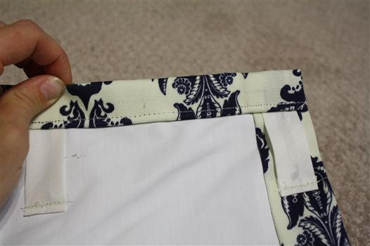 back tabbed curtain panel drapes